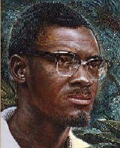 Patrice Lumumba, First and only Democratic Leader of the modern state of Congo (Zaire) 1960, overthrown by Mobutu Sese Seko and Joseph Kasavubu 1960, assassinated in 1961, with Western backing.