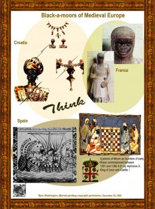 Black-a-moors of Medieval Europe