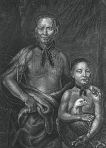 Muscogee Indians ChiefTomochichiAndNephew