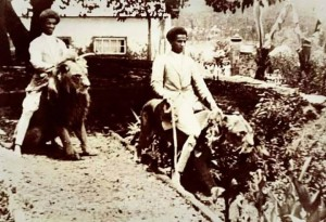 Ethiopians who ride the lion