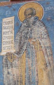 Saint Daniel the Hesychast of Moldovia