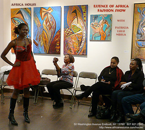 Africa House Fashion Show, Patricia Lulu Mbela, House of Agano, Kenya