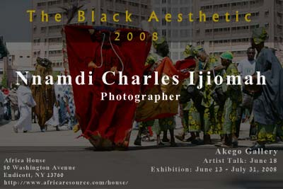The Black Aesthetic featuring Nnamdi Charles Ijiomah