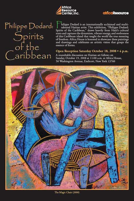 Philippe Dodard: Spirits of the Caribbean Opens October 18, 2008