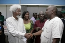 Poet Chidi Anthony Opara With Wole Soyinka And Others